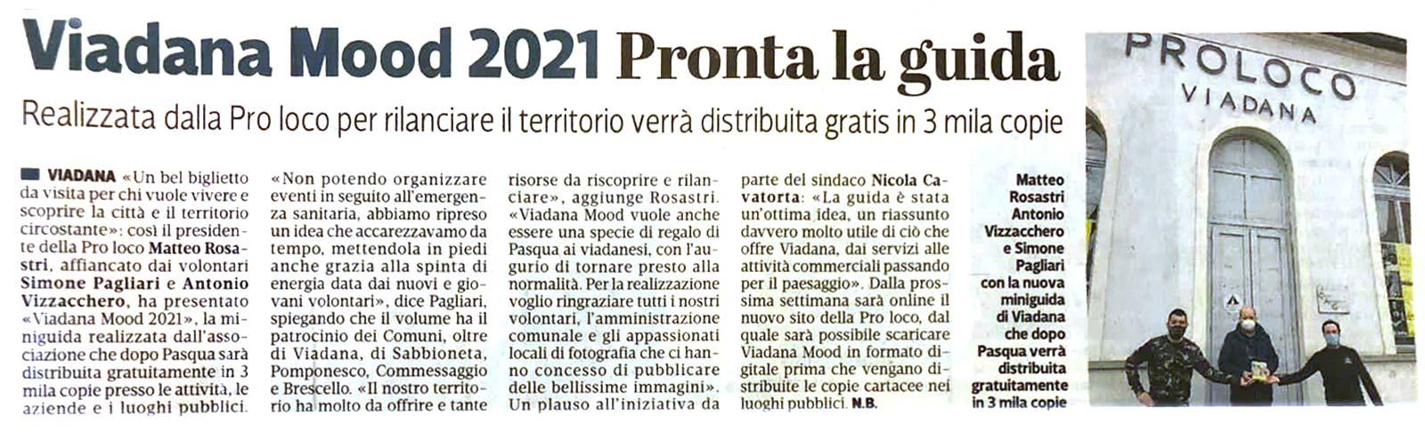 Proloco Viadana - Viadana Mood 2021 - articolo